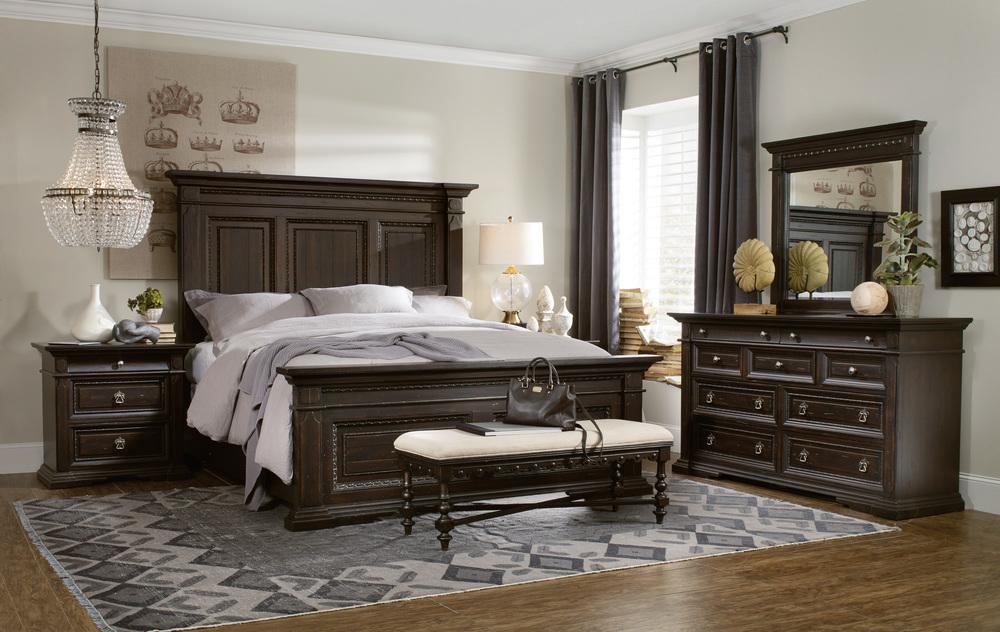 Hooker Furniture - Queen Panel Bed