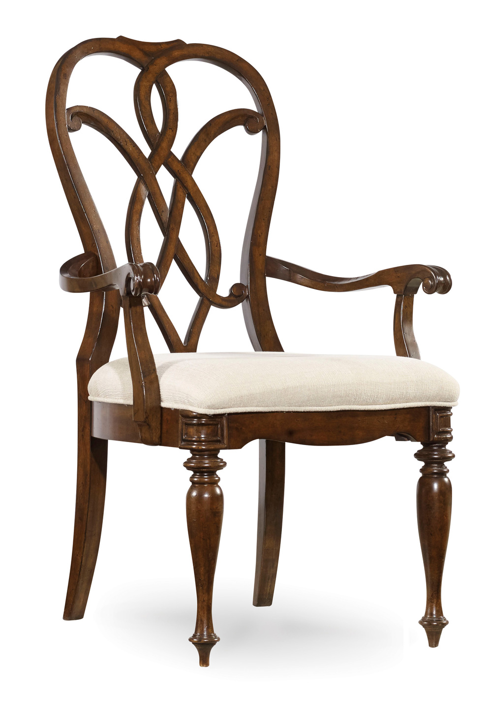 HOOKER FURNITURE CO - Leesburg Splatback Arm Chair