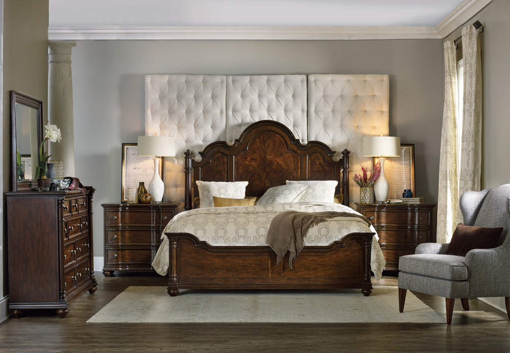Hooker Furniture - Queen Poster Bed