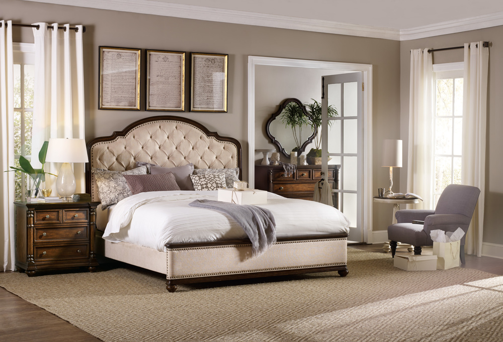 Hooker Furniture - California King Upholstered Bed