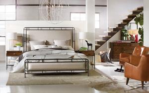 Thumbnail of Hooker Furniture - Slumber Queen Metal Upholstered Bed