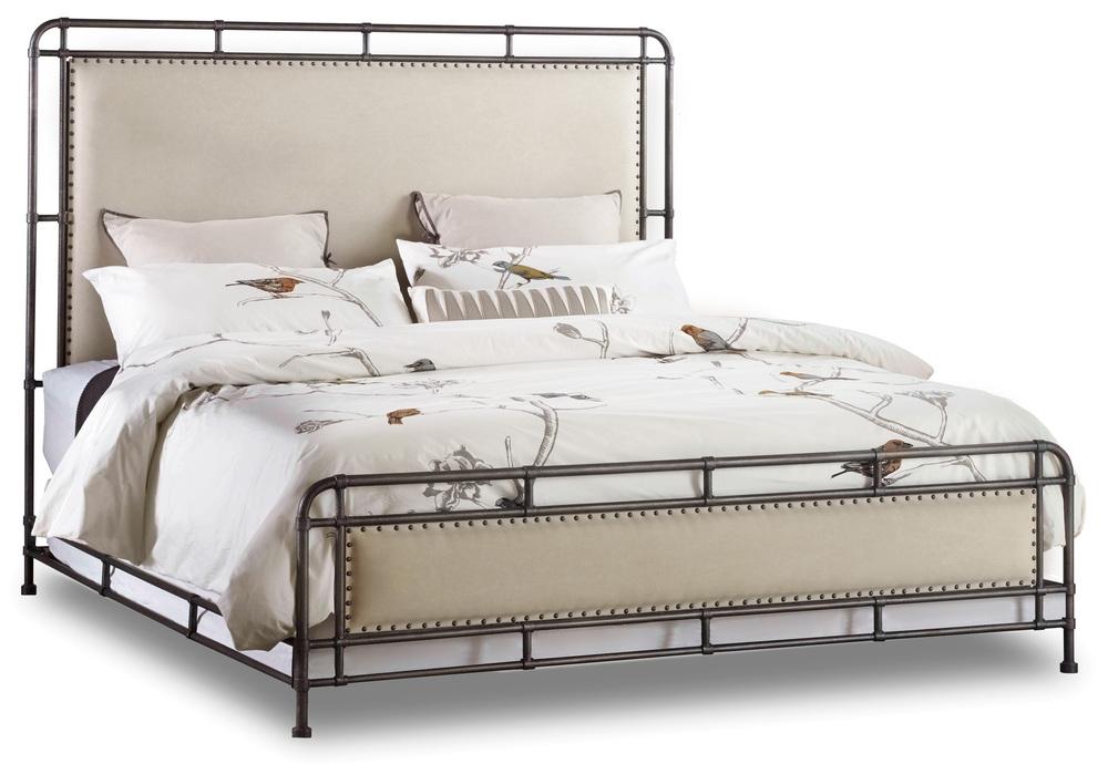 Hooker Furniture - Slumber King Metal Upholstered Bed
