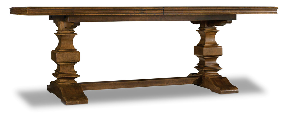 Hooker Furniture - Trestle Table w/ Two Leaves