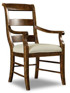 Thumbnail of Hooker Furniture - Archivist Ladderback Arm Chair