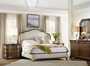 Thumbnail of Hooker Furniture - King Upholstered Shelter Bed