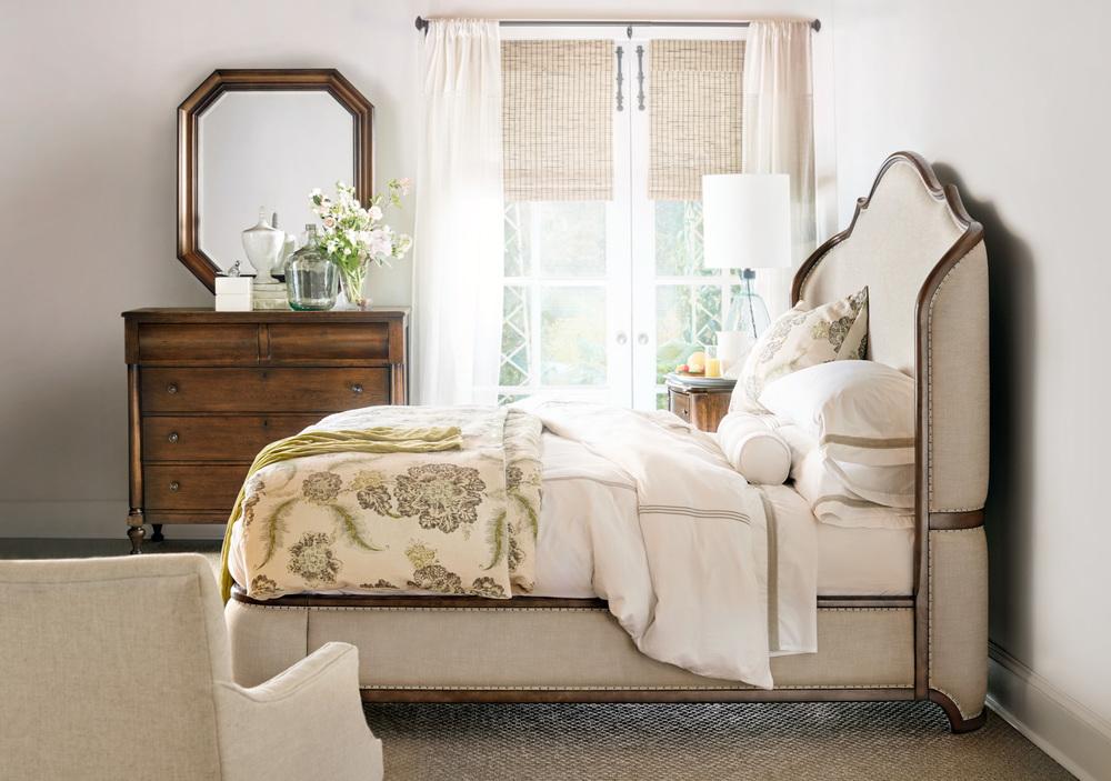 Hooker Furniture - King Upholstered Shelter Bed
