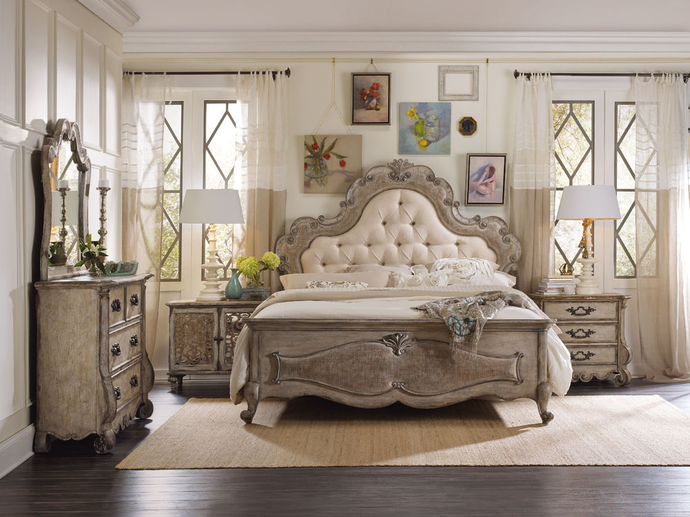 Hooker Furniture - Queen Upholstered Panel Bed