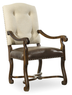 Thumbnail of Hooker Furniture - Treviso Camelback Arm Chair