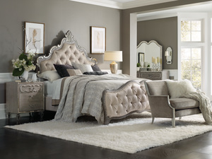 Thumbnail of Hooker Furniture - Upholstered King Panel Bed