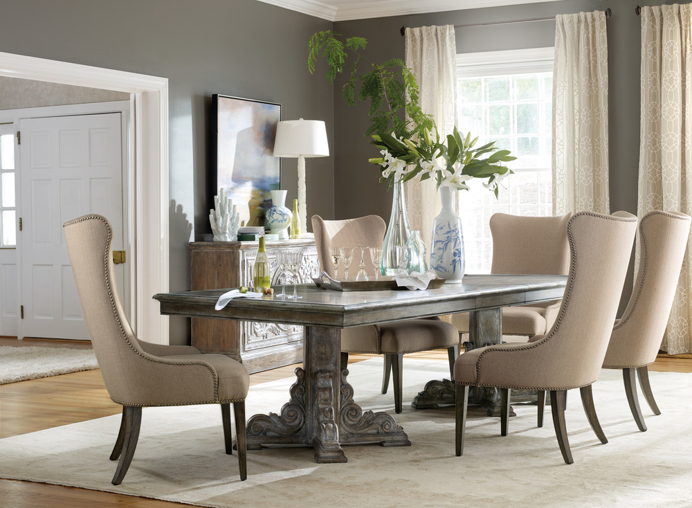 Hooker Furniture - Rectangular Dining Table w/ Two Leaves