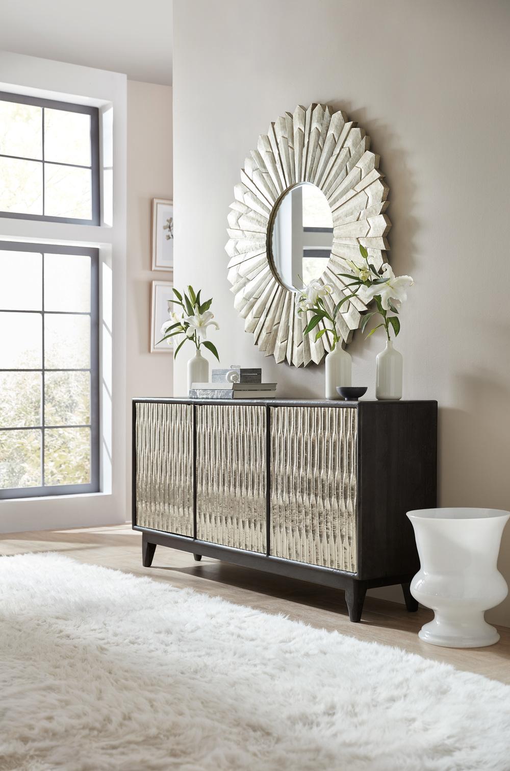 Hooker Furniture - Shimmer Three Door Credenza