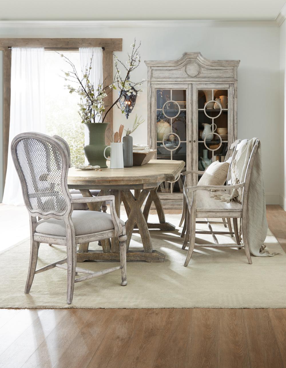 Hooker Furniture - Gaston Metal Back Side Chair