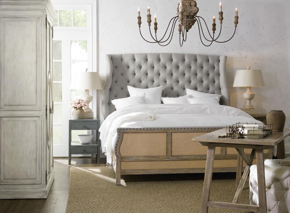 Hooker Furniture - Bon Vivant Deconstructed California King Upholstered Bed