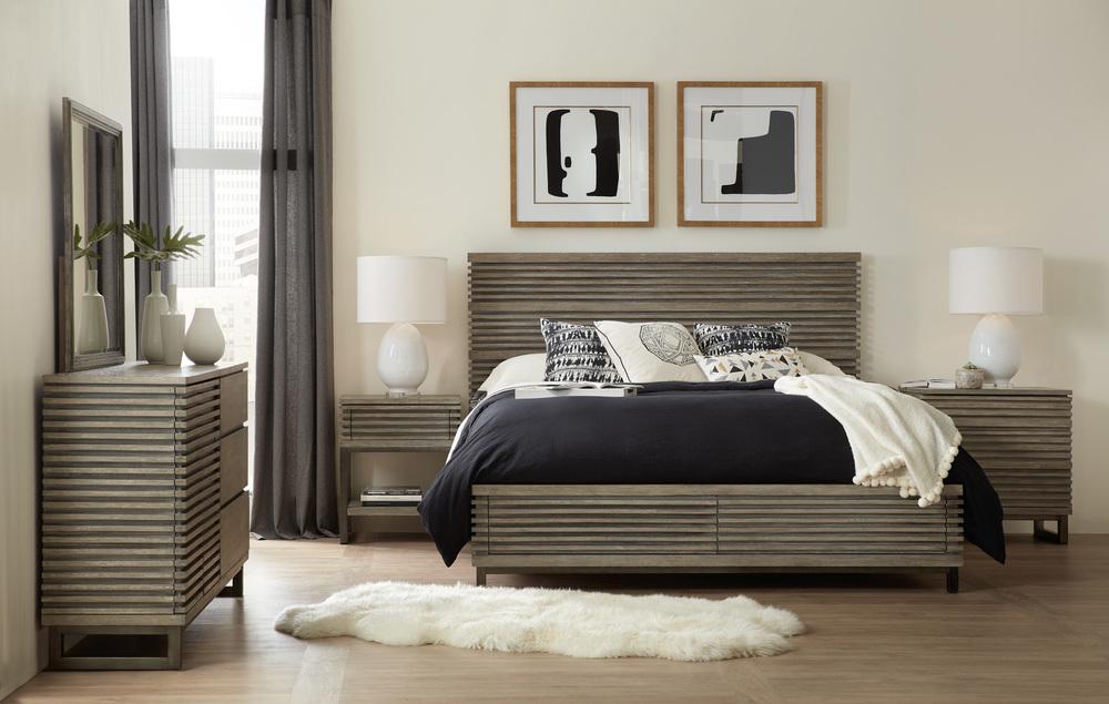 Hooker Furniture - King Panel Bed w/ Storage Footboard