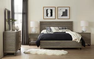 Thumbnail of Hooker Furniture - King Panel Bed w/ Storage Footboard