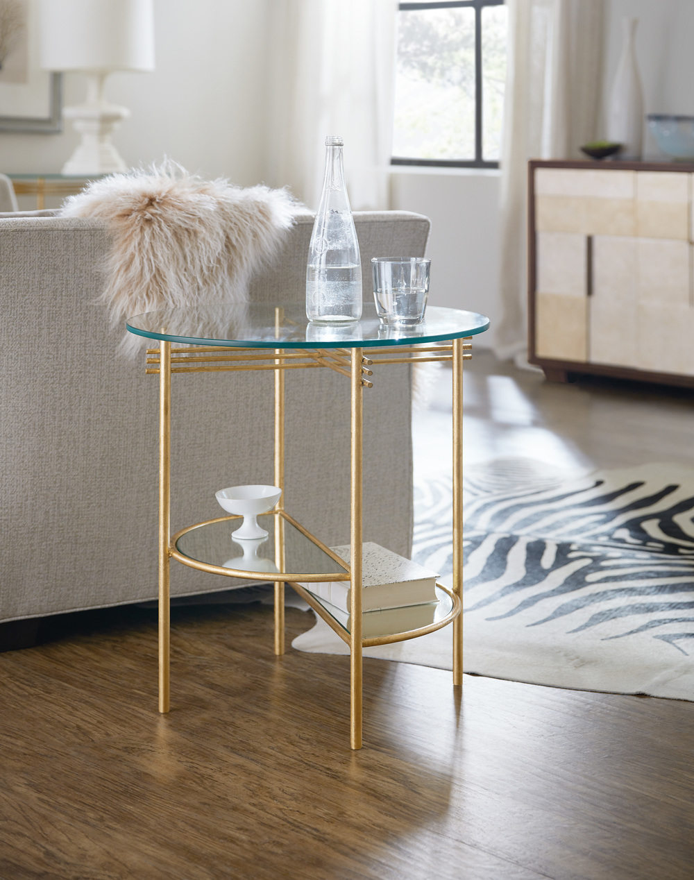 Hooker Furniture - Well Balanced Round End Table