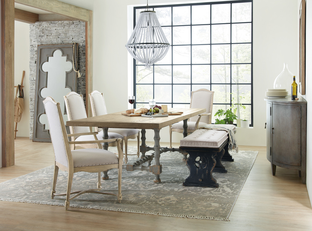 Hooker Furniture - Upholstered Back Arm Chair