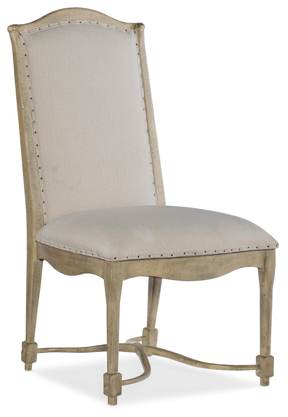 HOOKER FURNITURE CO - Upholstered Back Side Chair