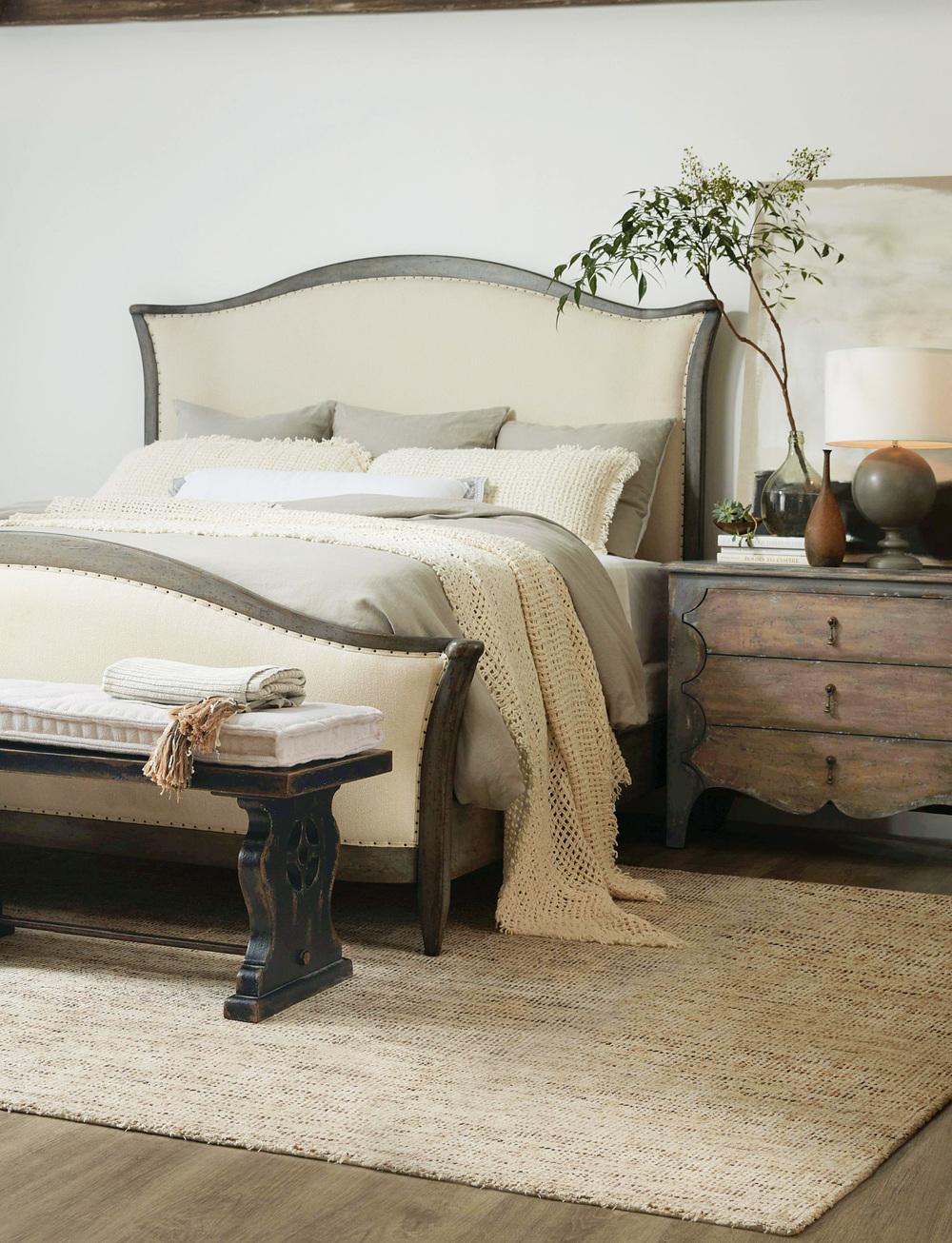 Hooker Furniture - Cal King Upholstered Bed
