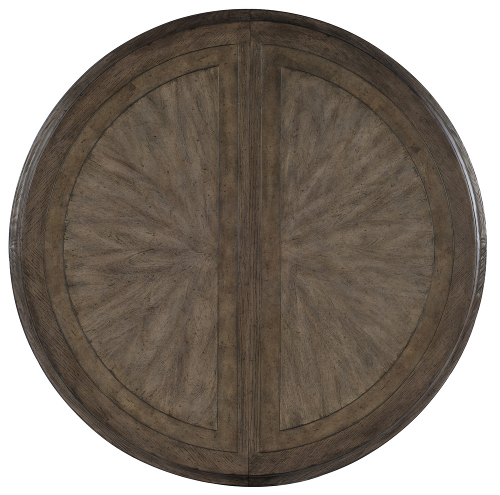 Hooker Furniture - Round Dining Table w/ Two Leaves