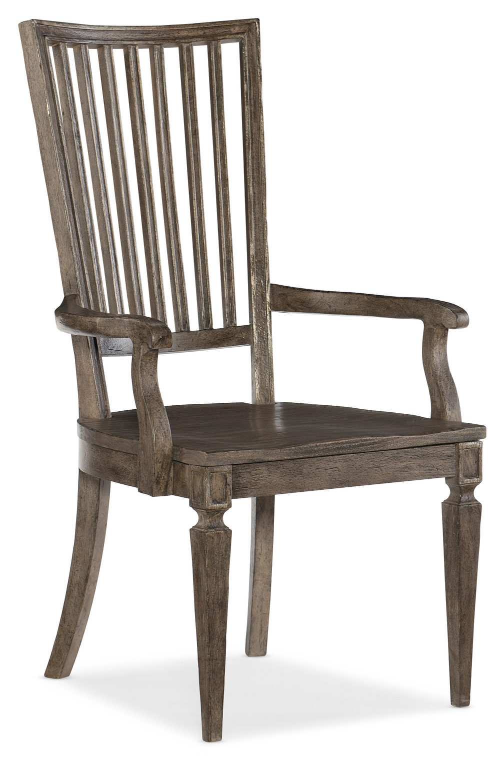 Hooker Furniture - Wood Back Arm Chair