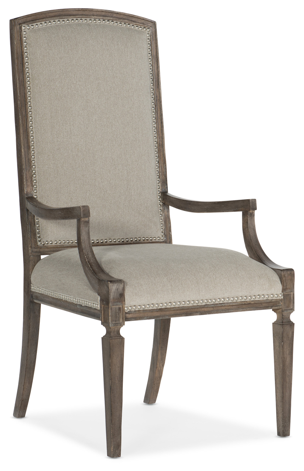 HOOKER FURNITURE CO - Arched Upholstered Arm Chair
