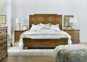 Thumbnail of Hooker Furniture - Queen Wood Panel Bed
