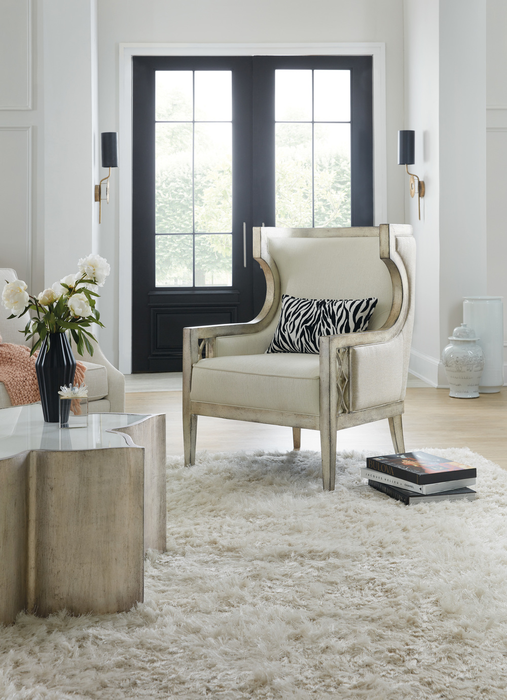 Hooker Furniture - Debutant Wing Chair