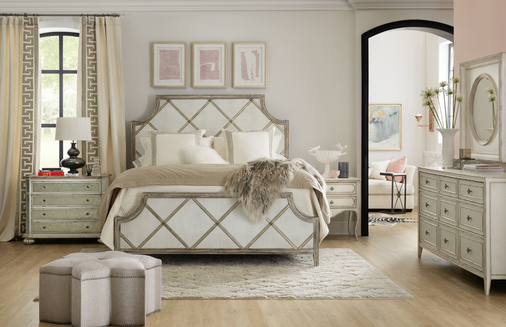 Hooker Furniture - Diamont Queen Panel Bed