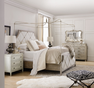 Thumbnail of Hooker Furniture - Diamont Canopy California King Panel Bed