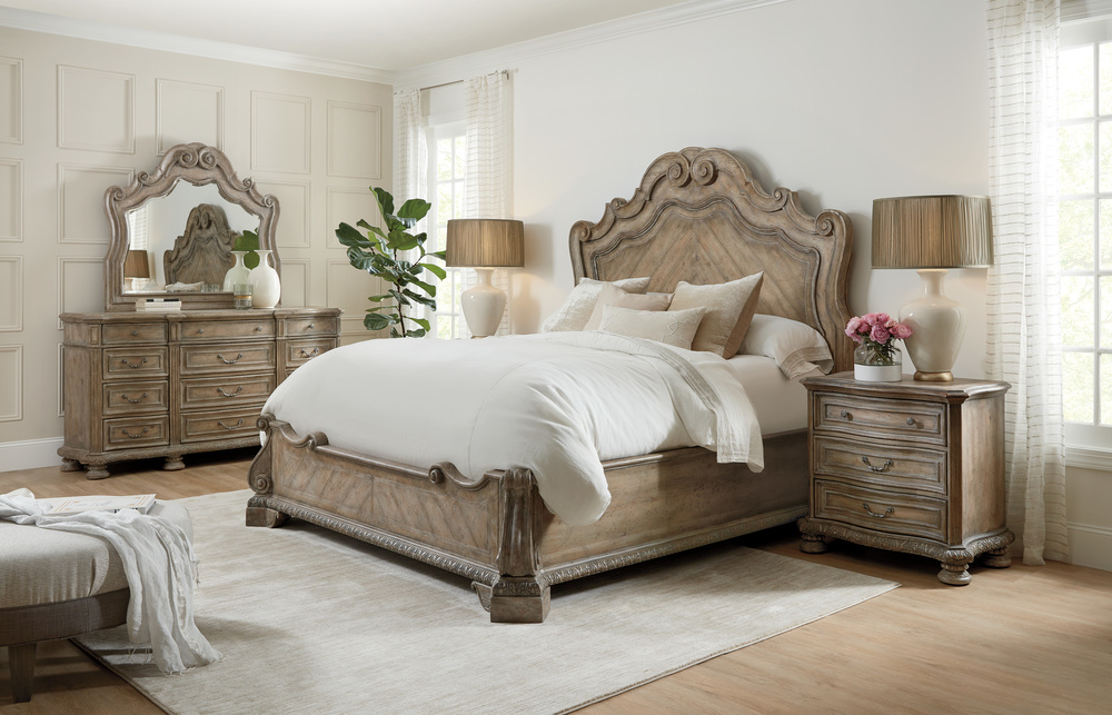 Hooker Furniture - King Panel Bed