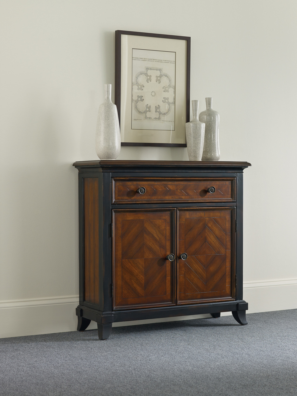 Hooker Furniture - Wingate One Drawer/Two Door Chest