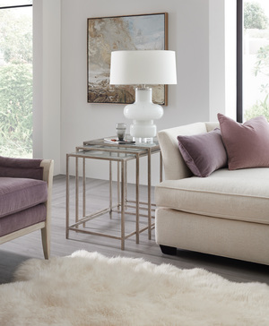 Thumbnail of Hooker Furniture - Wavecrest Metal and Glass Nesting Tables