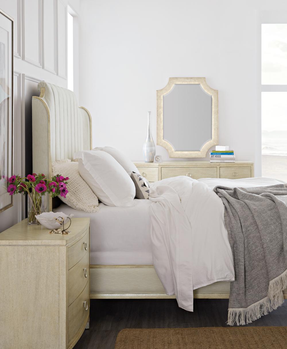 Hooker Furniture - Mirada King Upholstered Bed