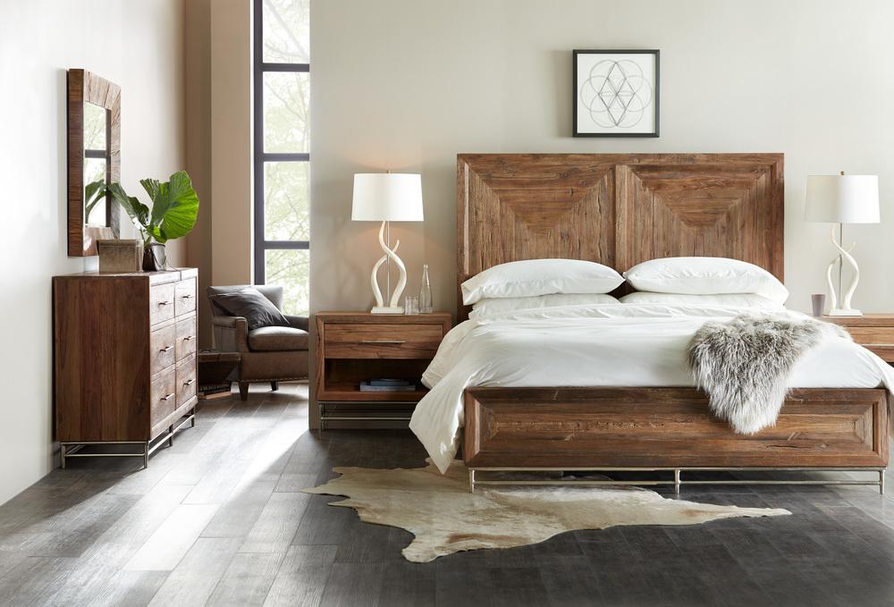 Hooker Furniture - California King Panel Bed