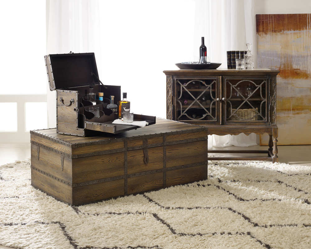 Hooker Furniture - Pinta Trail Strong Box Cocktail Table