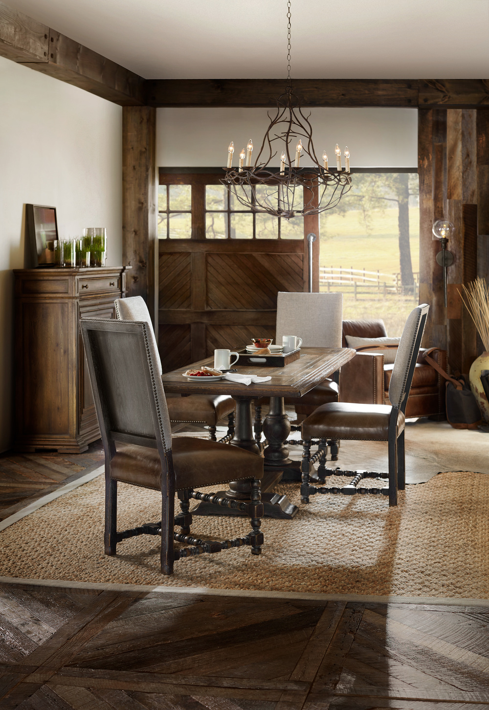 Hooker Furniture - Balcones Friendship Table w/ Two Leaves