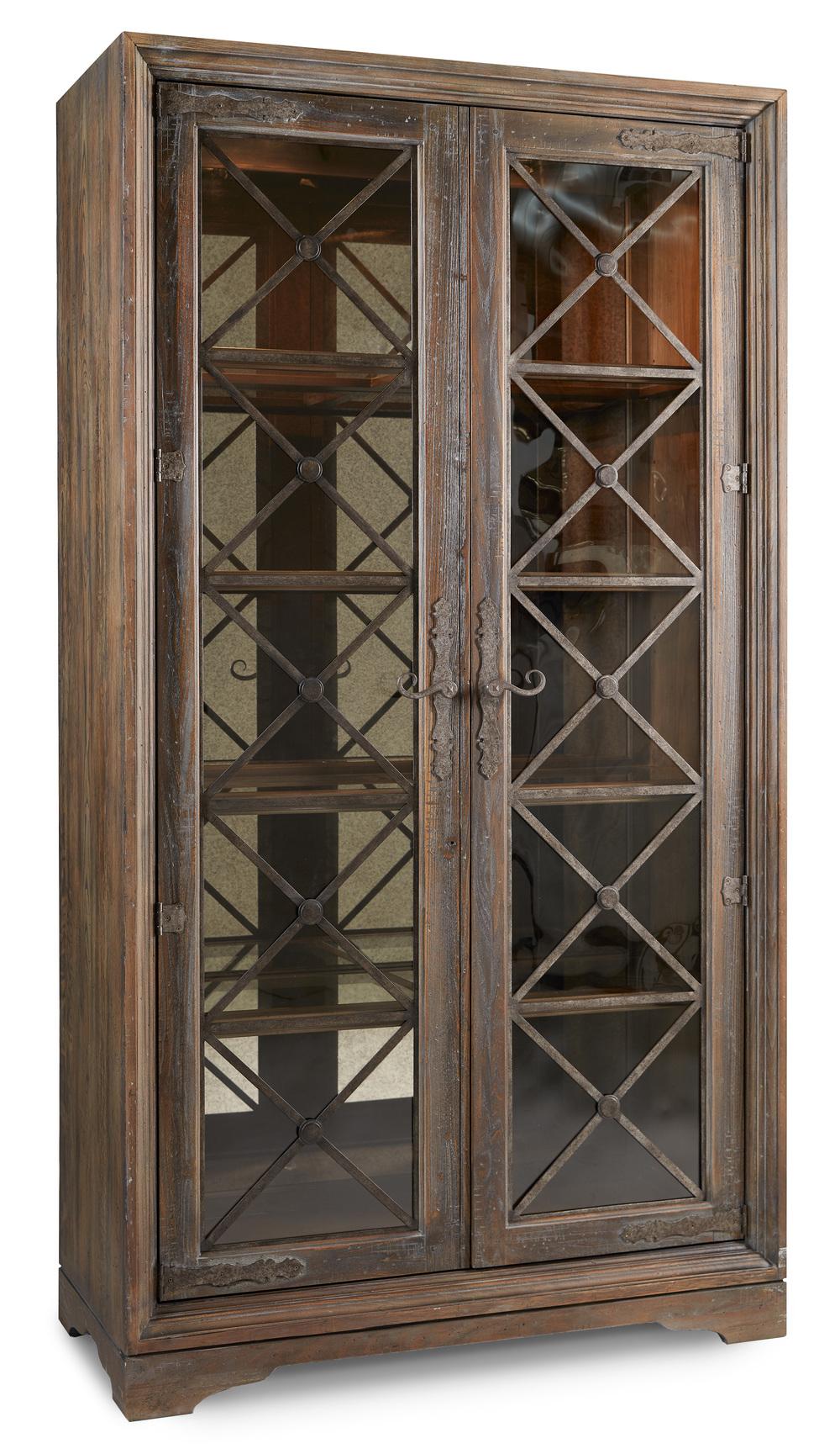 Hooker Furniture - Sattler Display Cabinet