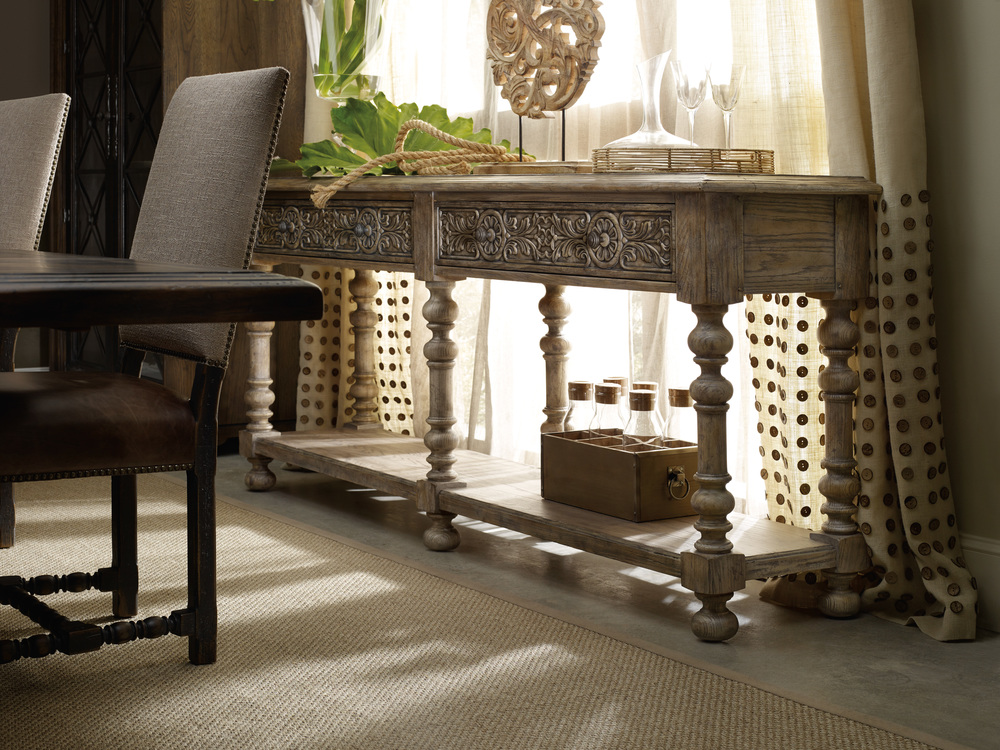 Hooker Furniture - Bexar Leg Huntboard