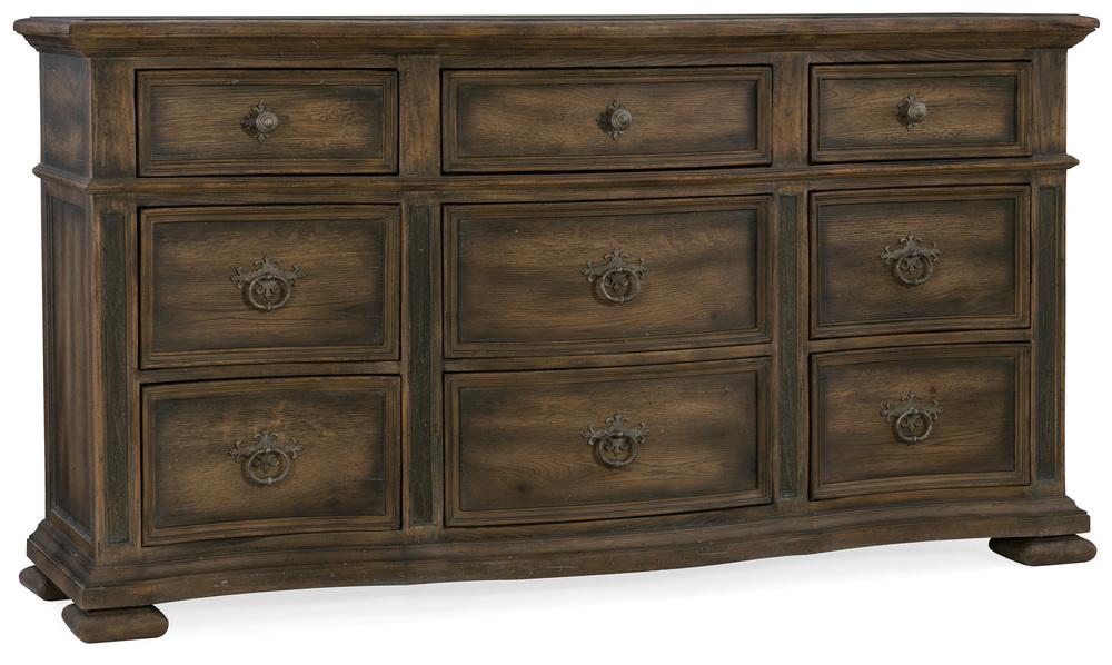 Hooker Furniture - Williamson Nine Drawer Dresser