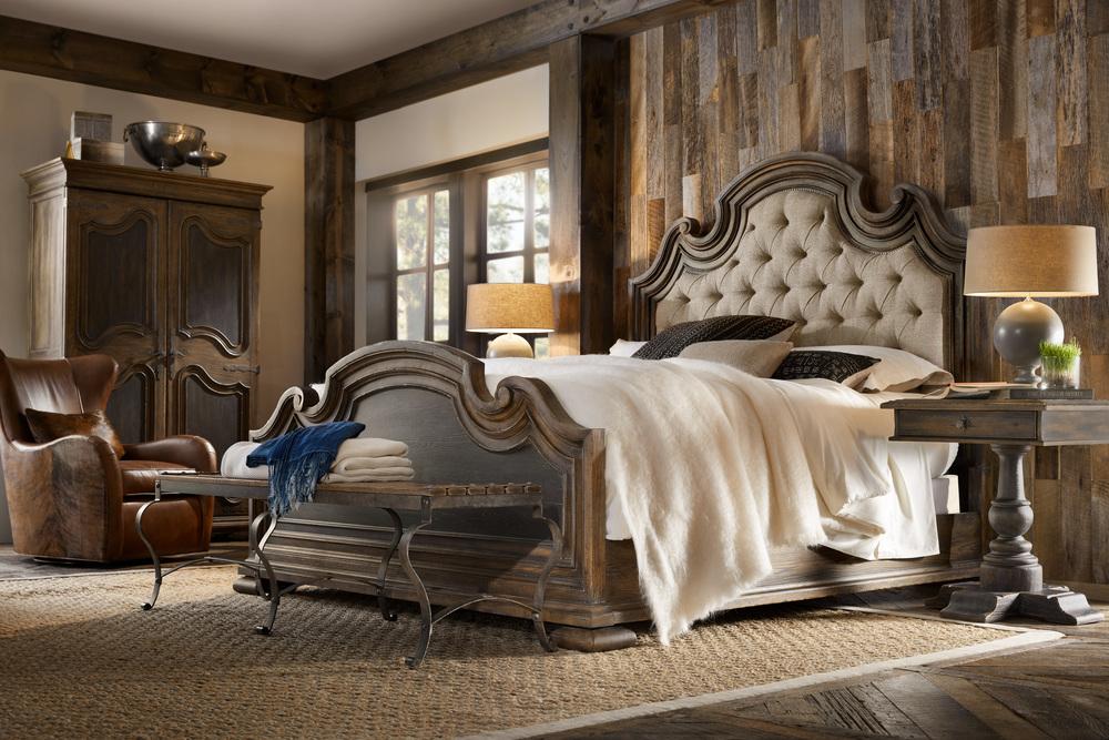 Hooker Furniture - Fair Oaks Queen Upholstered Bed