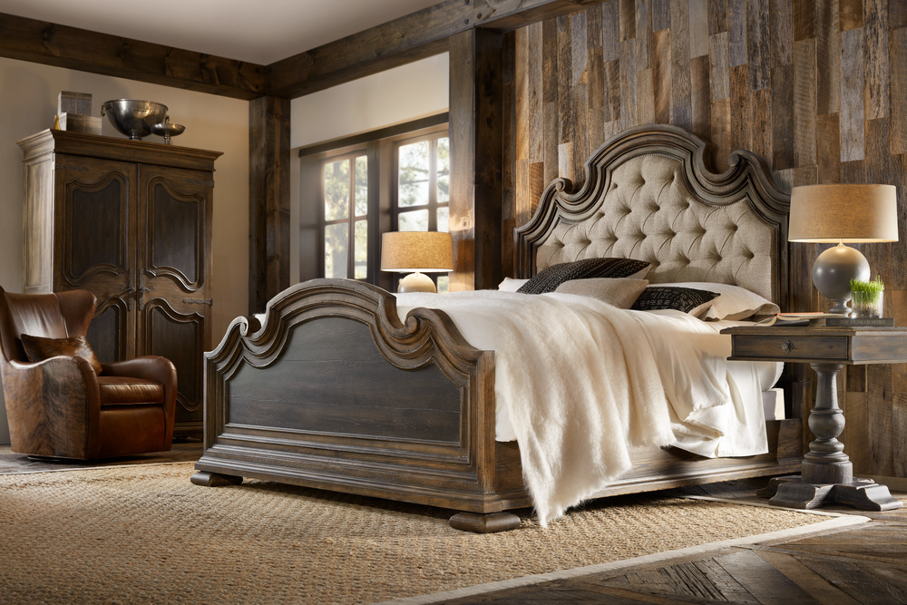 Hooker Furniture - Fair Oaks California King Upholstered Bed