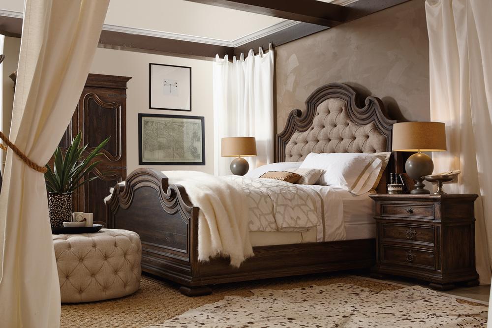 Hooker Furniture - Fair Oaks King Upholstered Bed