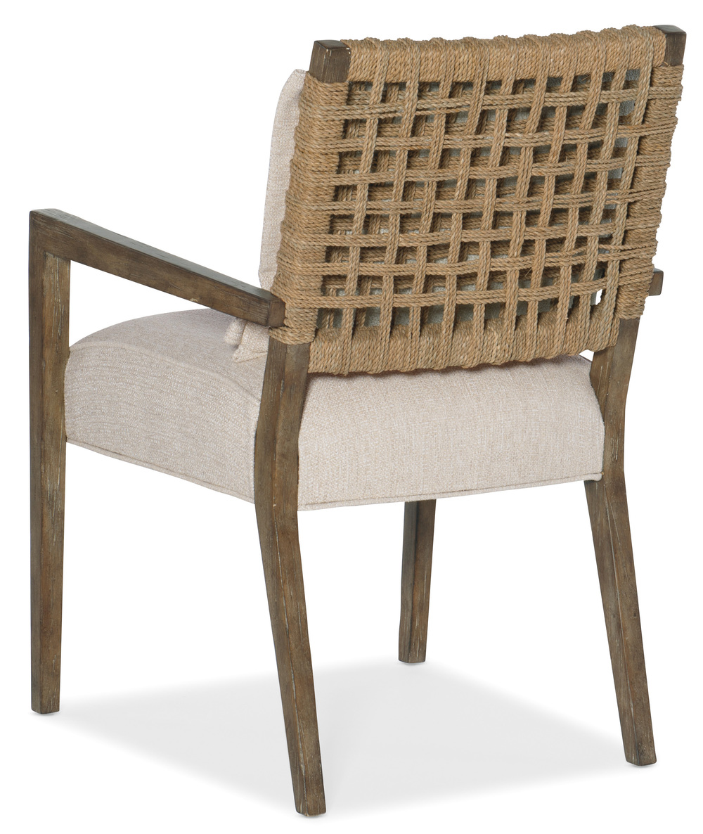Hooker Furniture - Woven Back Arm Chair