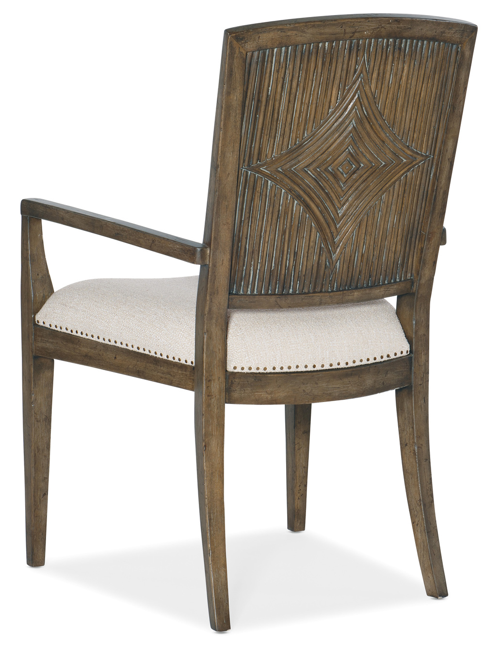 Hooker Furniture - Carved Back Arm Chair