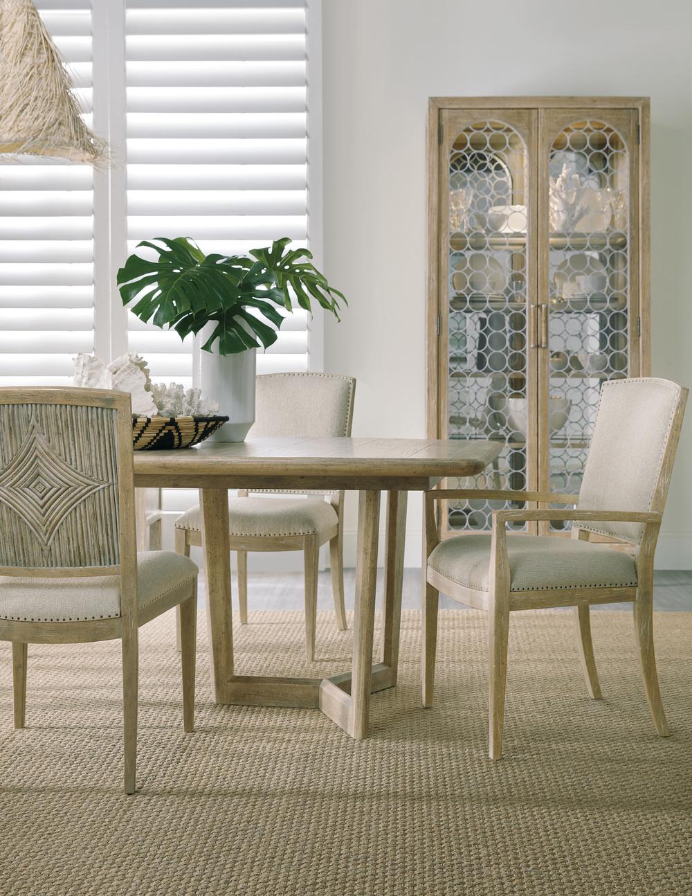 Hooker Furniture - Carved Back Side Chair