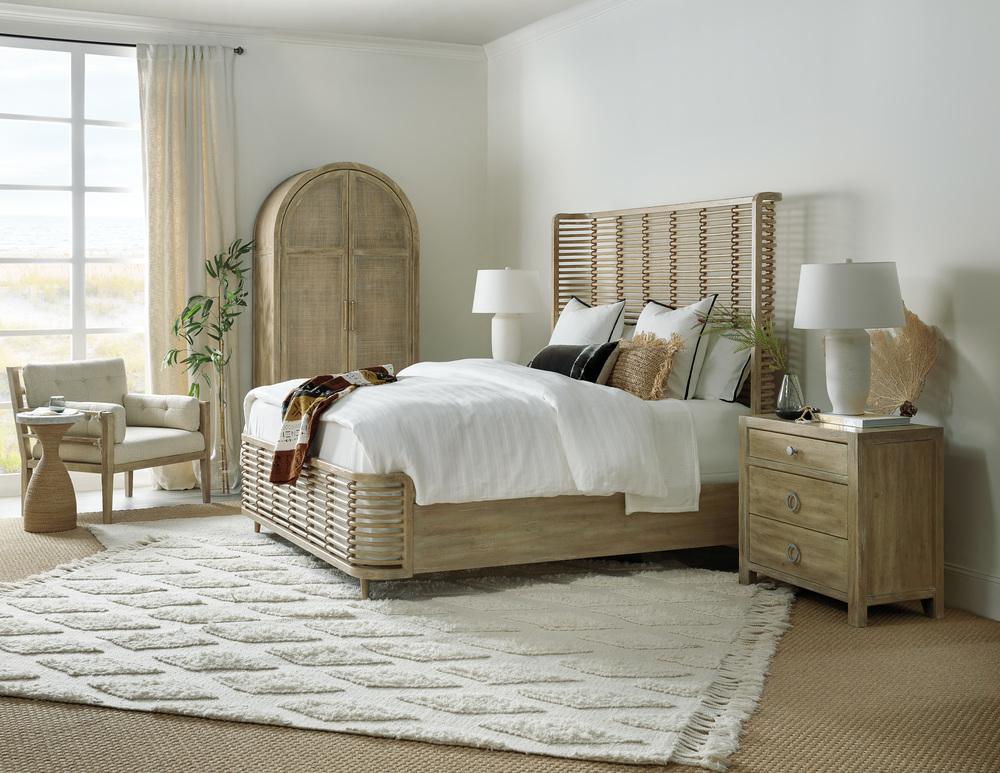 Hooker Furniture - Queen Rattan Bed