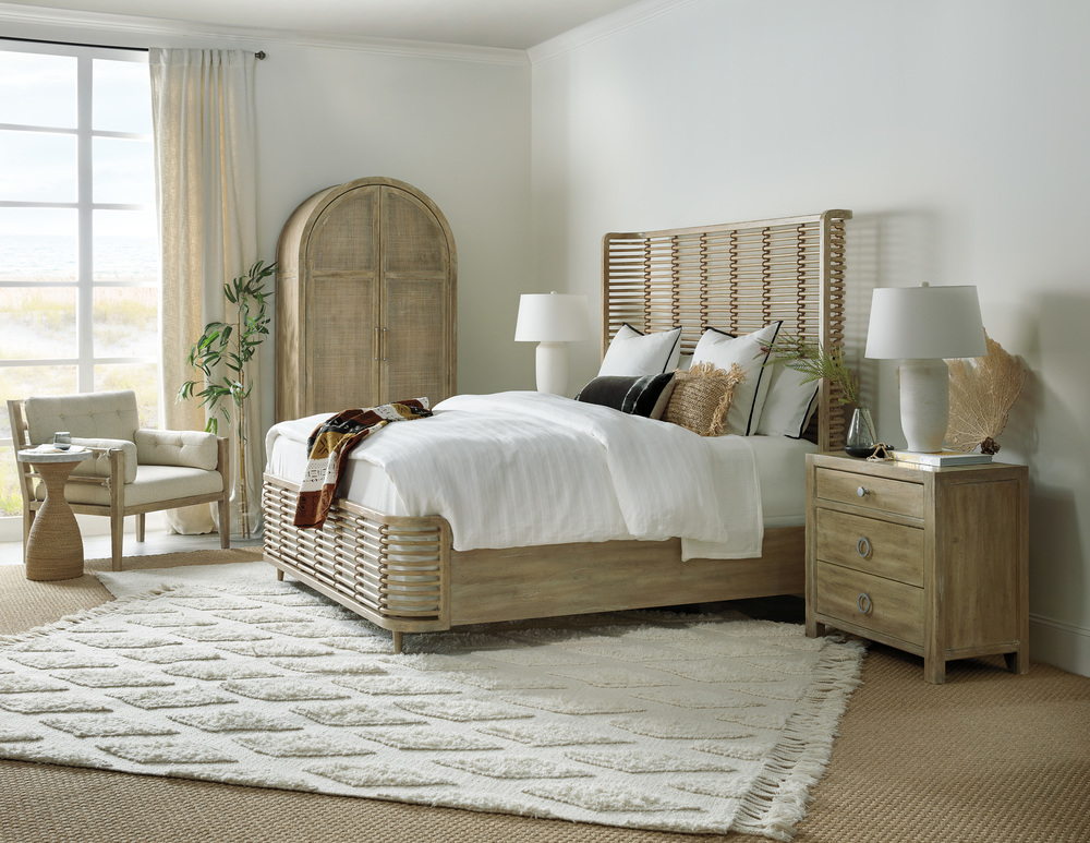 Hooker Furniture - California King Rattan Bed