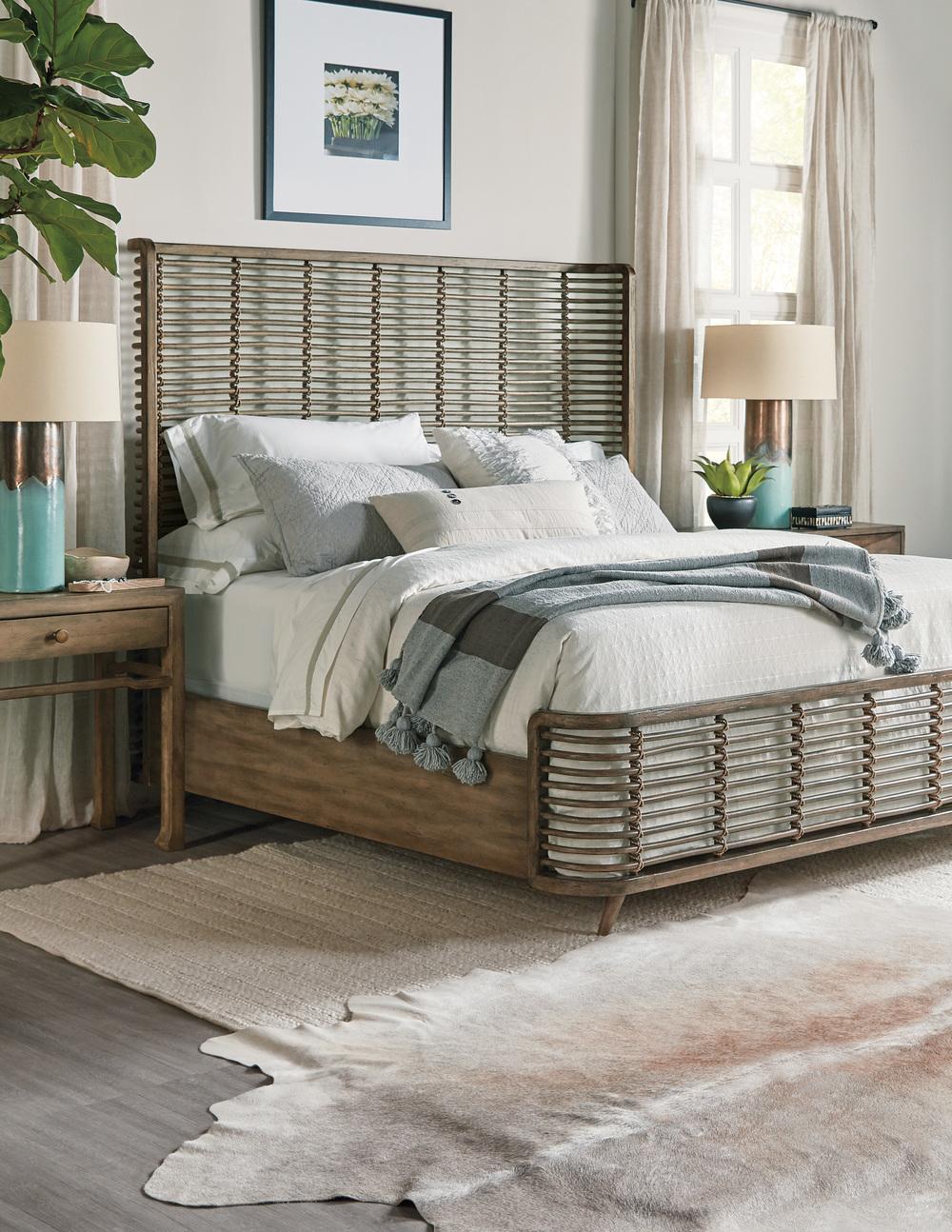 Hooker Furniture - California King Rattan Bed