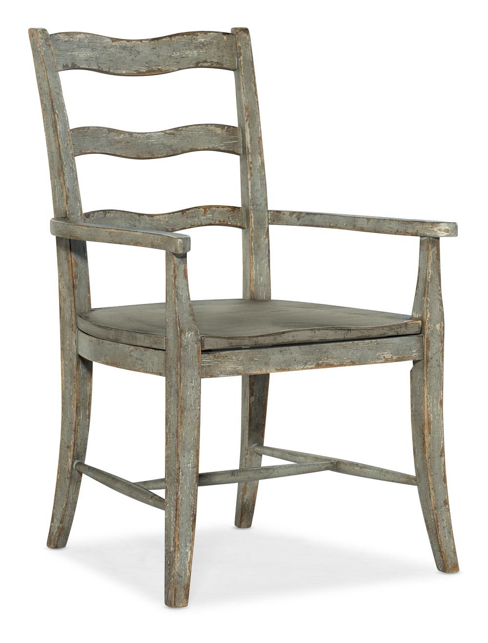 Hooker Furniture - La Riva Ladder Back Arm Chair, 2/ctn